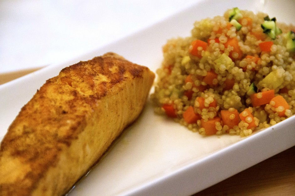 Coconut Curry Salmon Filet
