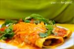 Kale and Mushroom Enchiladas