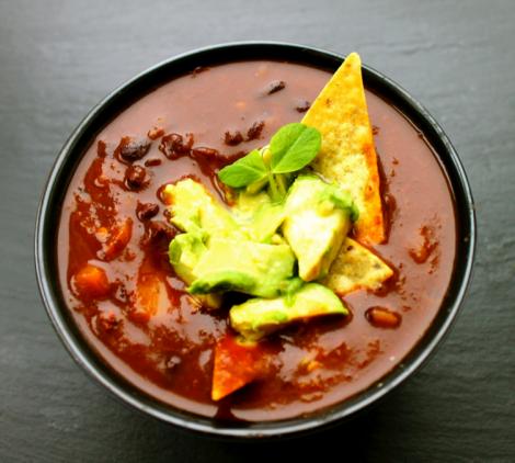 chiltomate tortilla soup
