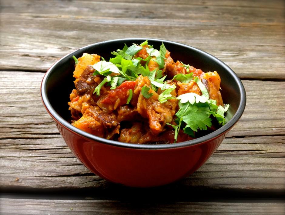 Mixed Vegetable Sweet Potato and Eggplant Vindaloo Recipe | Good Food for Good