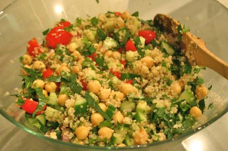 Quinoa Tabbouleh Recipe - Marni Wasserman | Good Food for Good