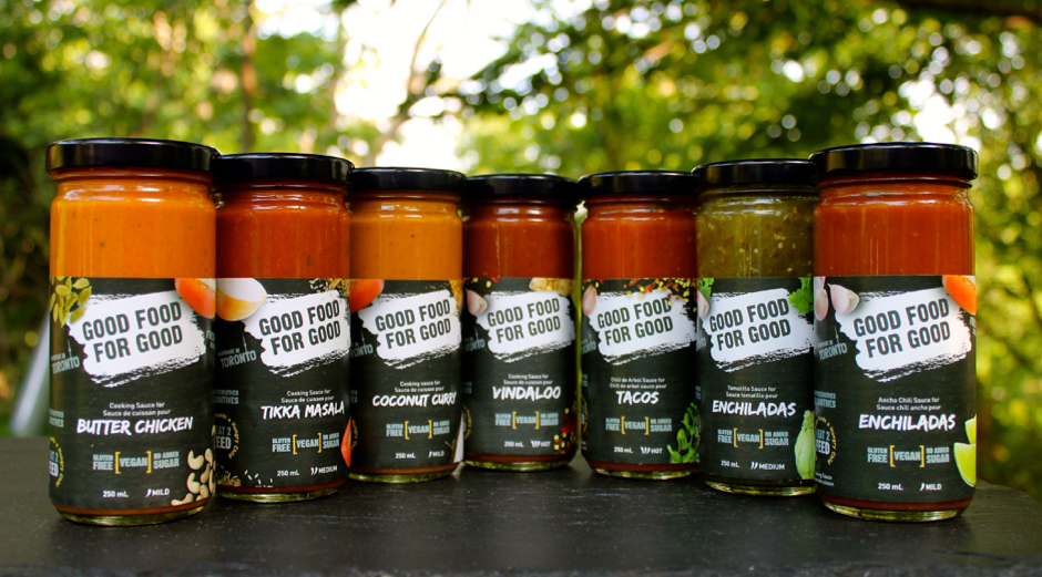 GOOD FOOD FOR GOOD Sauces