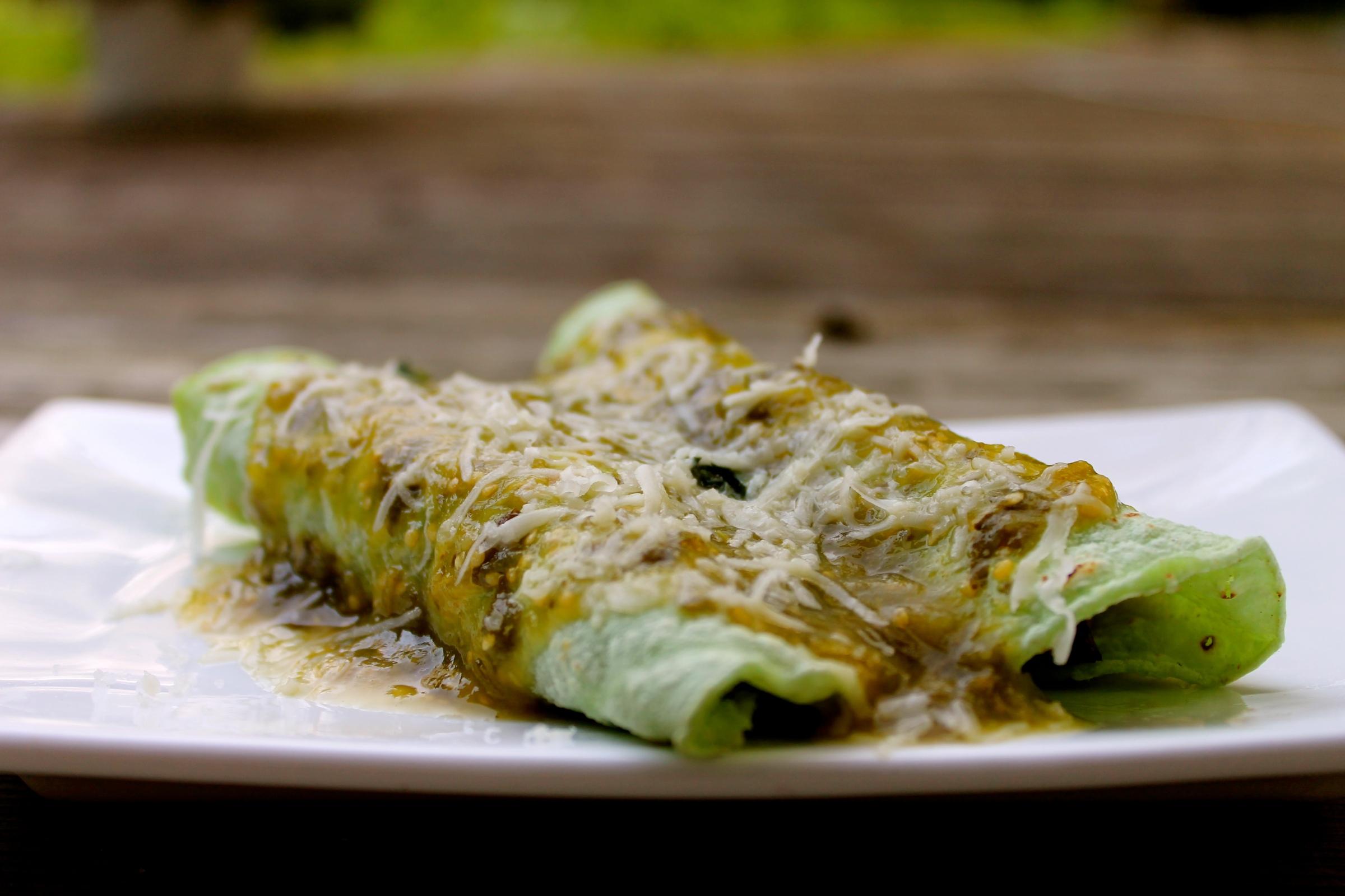 how to make enchiladas verdes