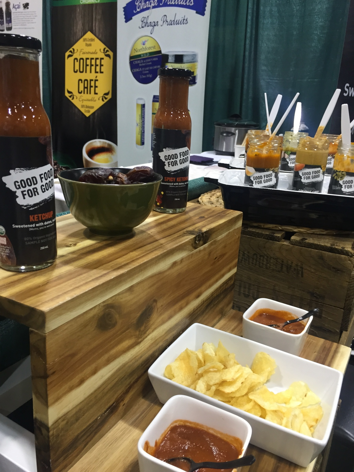 CHFA East 2015 - Good Food for Good | Ketchup sweetened with dates