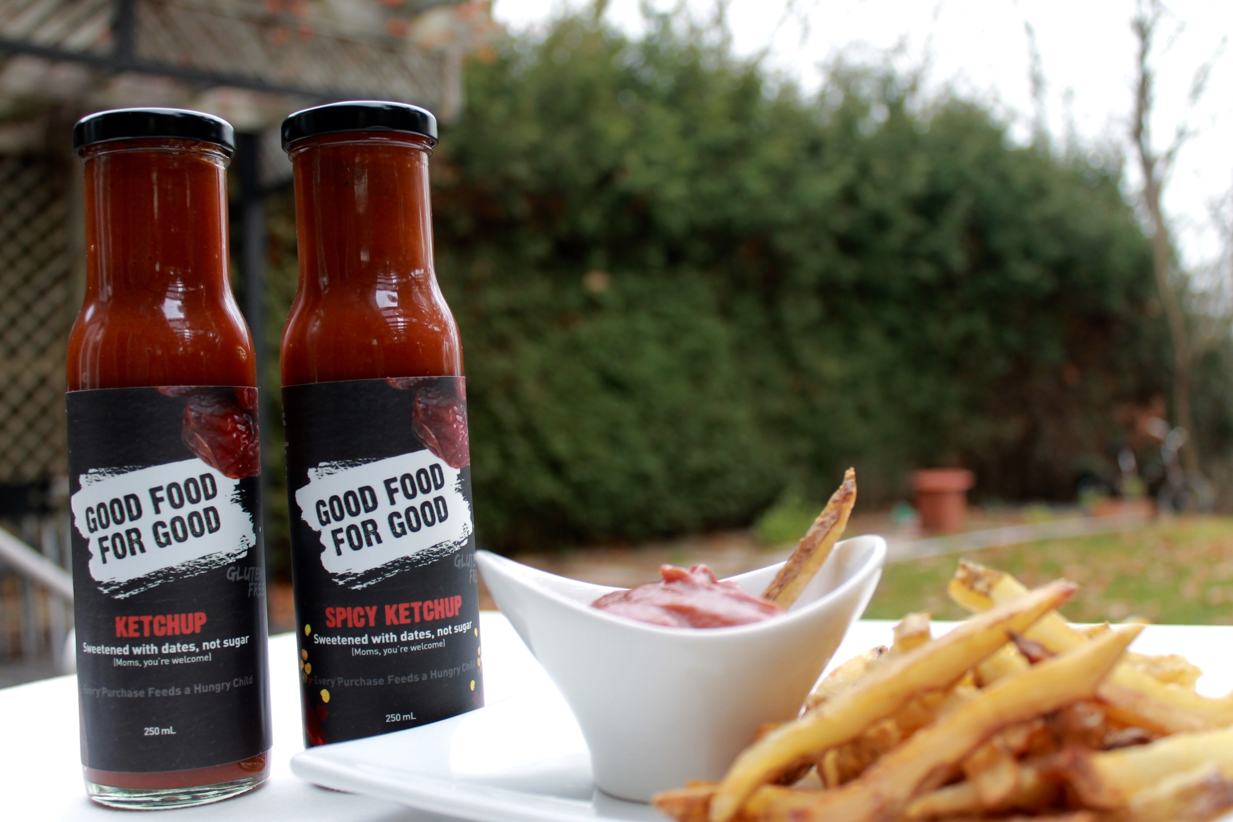 GOOD FOOD FOR GOOD Ketchup, Sweetened with Dates - Moms you're welcome