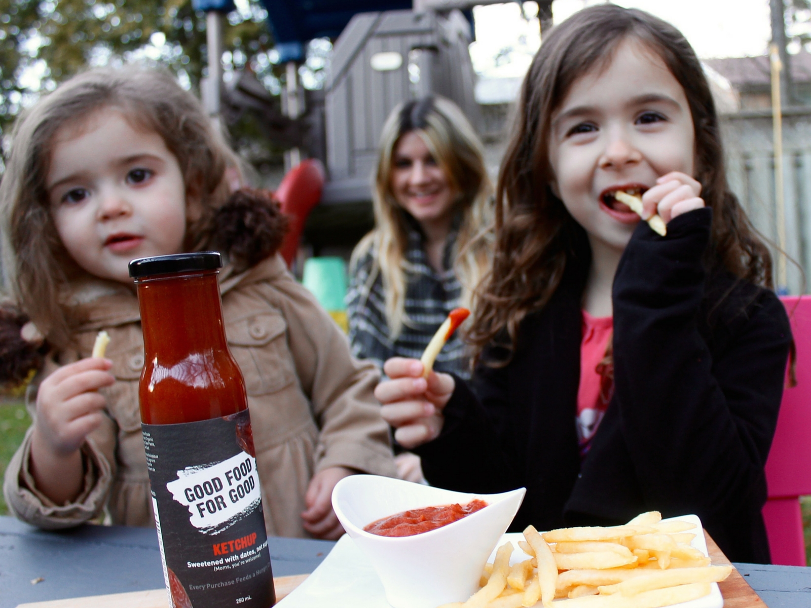 GOOD FOOD FOR GOOD Ketchup, Sweetened with Dates | Moms you are welcome