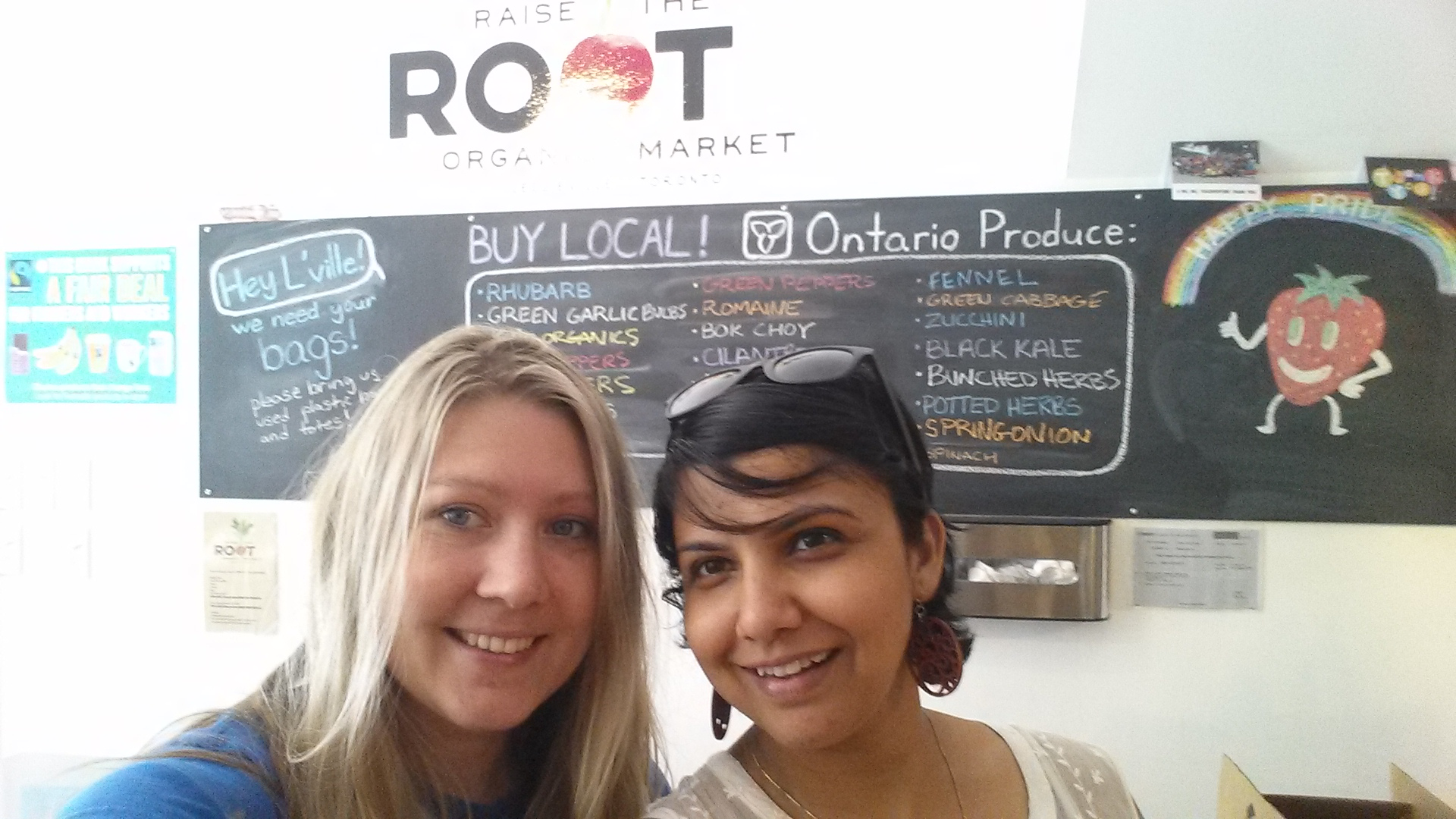 Raise the Root Organic market   Good Food for Good
