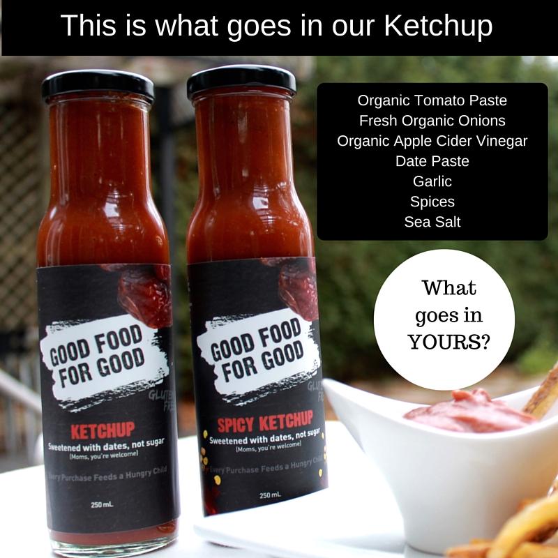 Ketchup ingredients