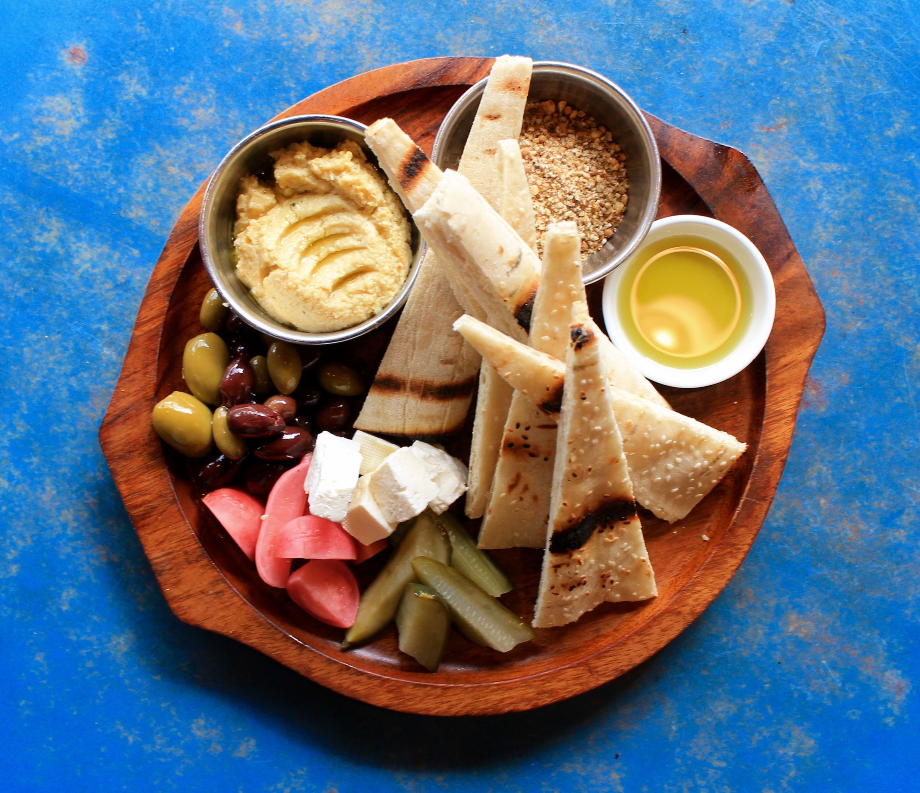 mezze platter - EAT 2 FEED TO | Harvest Kitchen & Good Food for Good